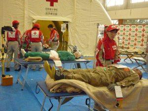 赤十字研修と災害救護活動|盛岡赤十字病院